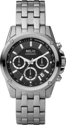 Relic Grant Stainless Steel Watch Silver - Relic Watches