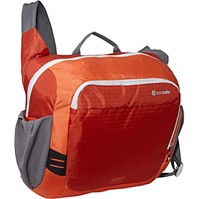 VentureSafe 350 GII Anti-Theft Shoulder Bag Sunset Red