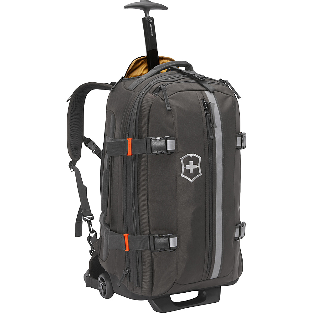 Victorinox CH 97 2.0 25 Tourist Luggage Black - Victorinox Large Rolling Luggage