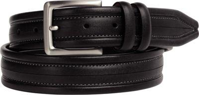 Johnston & Murphy Center Scored Belt Black - Size 34 - Johnston & Murphy Other Fashion Accessories
