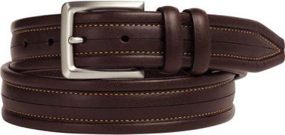 Johnston & Murphy Center Scored Belt Brown - Size 34 - Johnston & Murphy Other Fashion Accessories