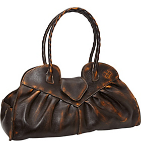 Over Dye Lione Shoulder Bag Brown