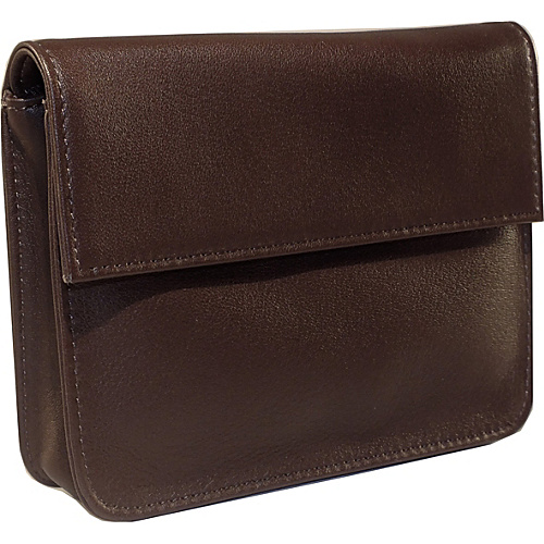 Royce Leather RFID Blocking Exec Wallet Coco/Coco - Royce Leather Mens Wallets