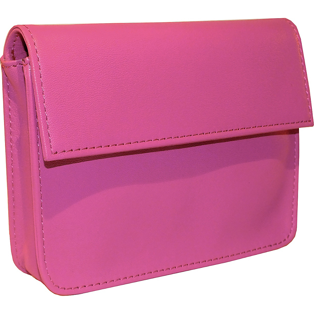 Royce Leather RFID Blocking Exec Wallet Wild Berry - Royce Leather Mens Wallets - Work Bags & Briefcases, Men's Wallets