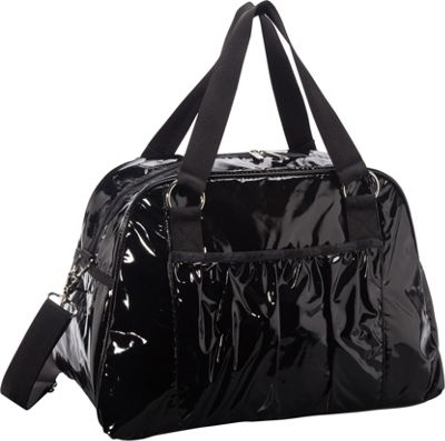 LeSportsac Abby Carry-On Luggage Tote (Patent) Black Patent - LeSportsac Luggage Totes and Satchels