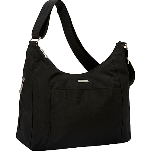baggallini Companion Hobo Black/Khaki - baggallini Fabric Handbags