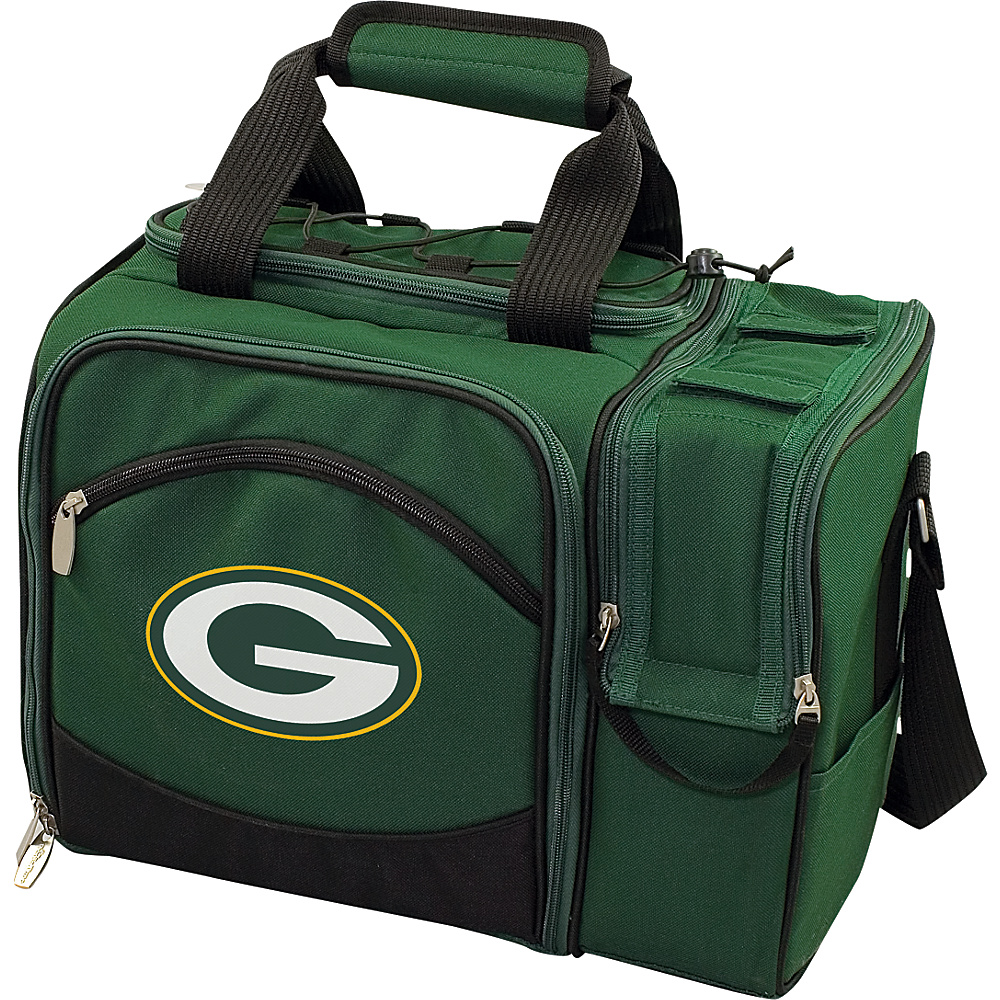 Picnic Time Green Bay Packers Malibu Insulated Picnic Pack Green Bay Packers Hunter - Picnic Time Outdoor Coolers - Outdoor, Outdoor Coolers