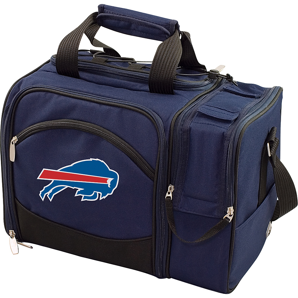 Picnic Time Buffalo Bills Malibu Insulated Picnic Pack Buffalo Bills Navy - Picnic Time Outdoor Coolers