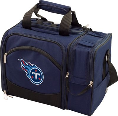 Picnic Time Tennessee Titans Malibu Insulated Picnic Pack Tennessee Titans Navy - Picnic Time Outdoor Coolers