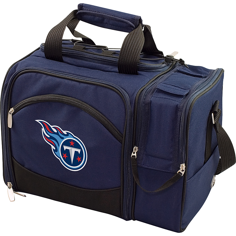Picnic Time Tennessee Titans Malibu Insulated Picnic Pack Tennessee Titans Navy - Picnic Time Outdoor Coolers - Outdoor, Outdoor Coolers