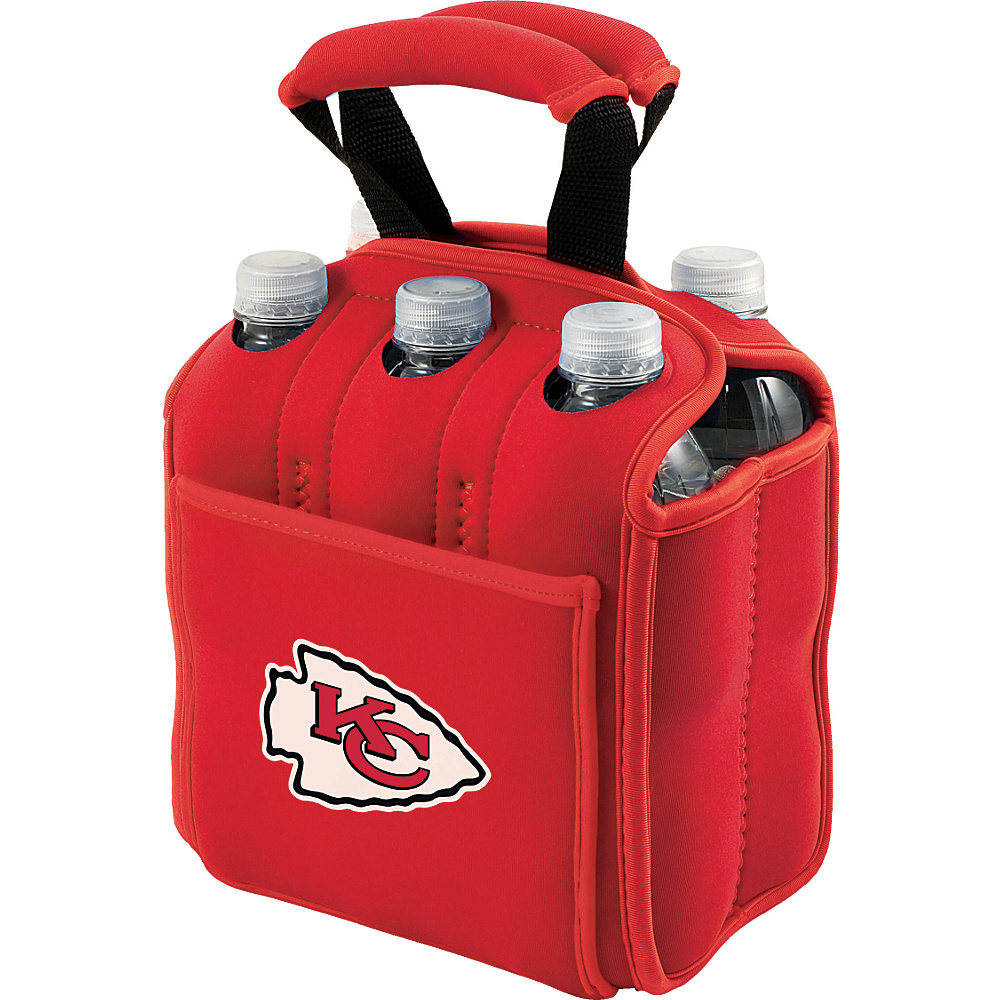 Picnic Time Kansas City Chiefs Six Pack Kansas City Chiefs Red - Picnic Time Outdoor Accessories - Outdoor, Outdoor Accessories