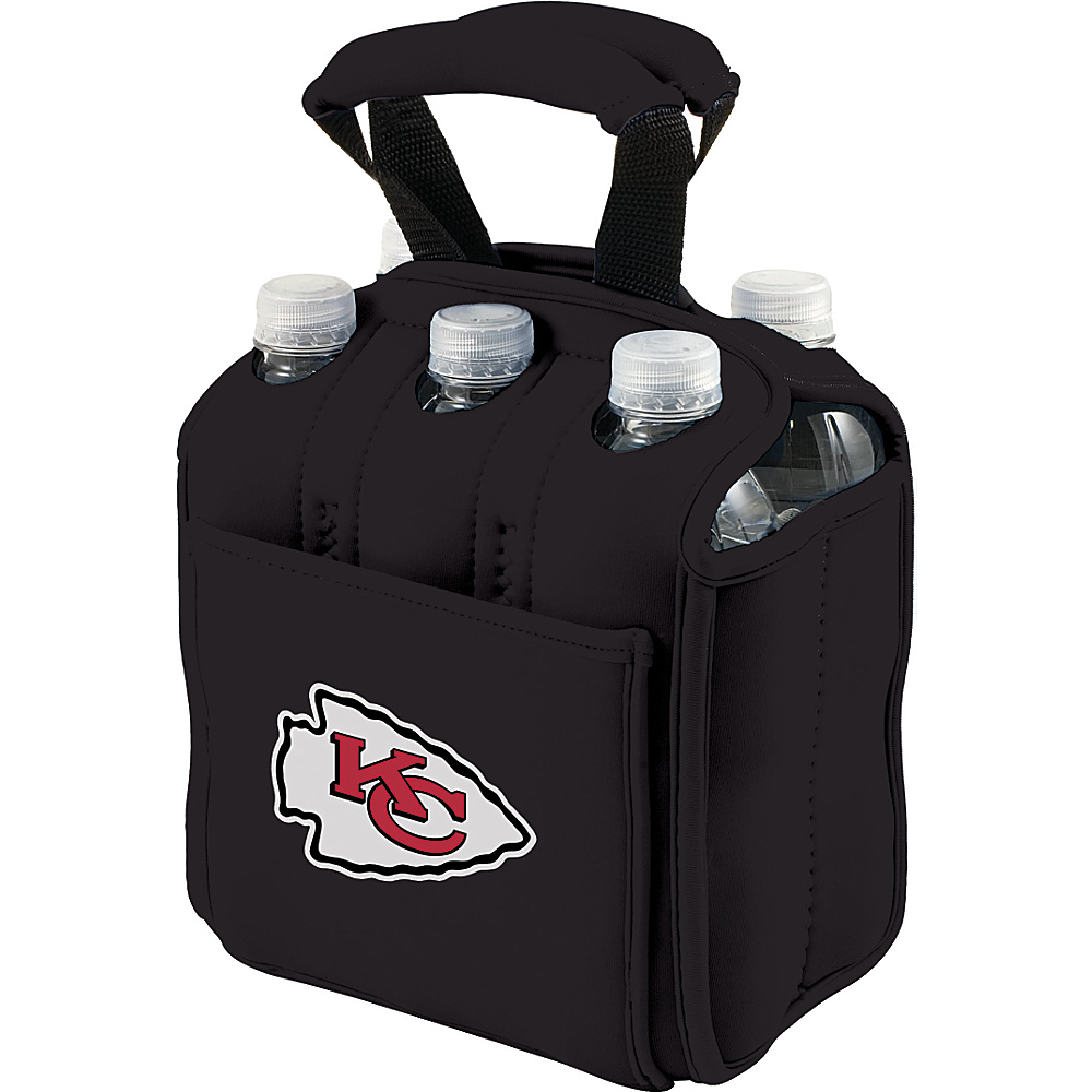 Picnic Time Kansas City Chiefs Six Pack Kansas City Chiefs Black - Picnic Time Outdoor Accessories - Outdoor, Outdoor Accessories