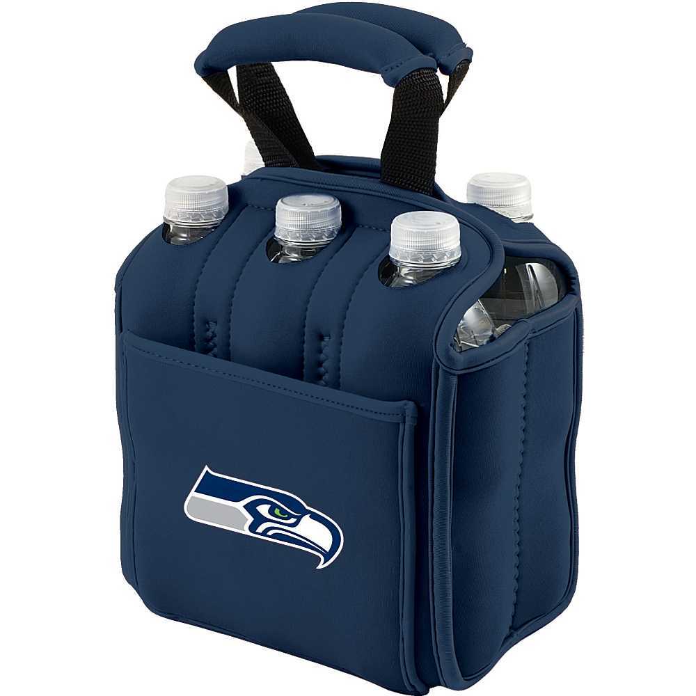Picnic Time Seattle Seahawks Six Pack Seattle Seahawks Navy - Picnic Time Outdoor Accessories - Outdoor, Outdoor Accessories