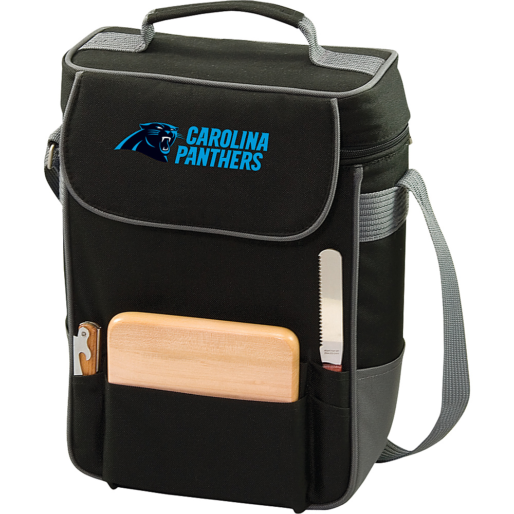Picnic Time Carolina Panthers Duet Wine & Cheese Tote Carolina Panthers - Picnic Time Outdoor Coolers - Outdoor, Outdoor Coolers