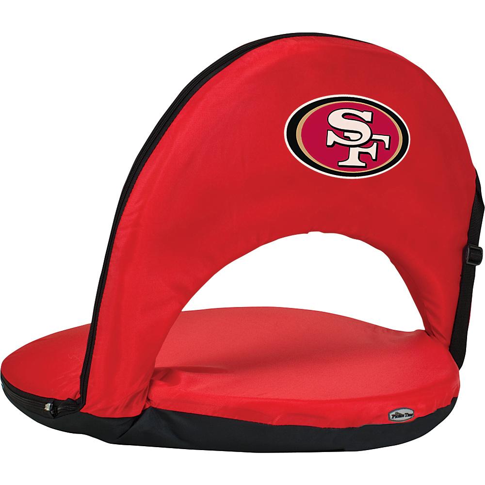 Picnic Time San Francisco 49ers Oniva Seat San Francisco 49ers Red - Picnic Time Outdoor Accessories - Outdoor, Outdoor Accessories