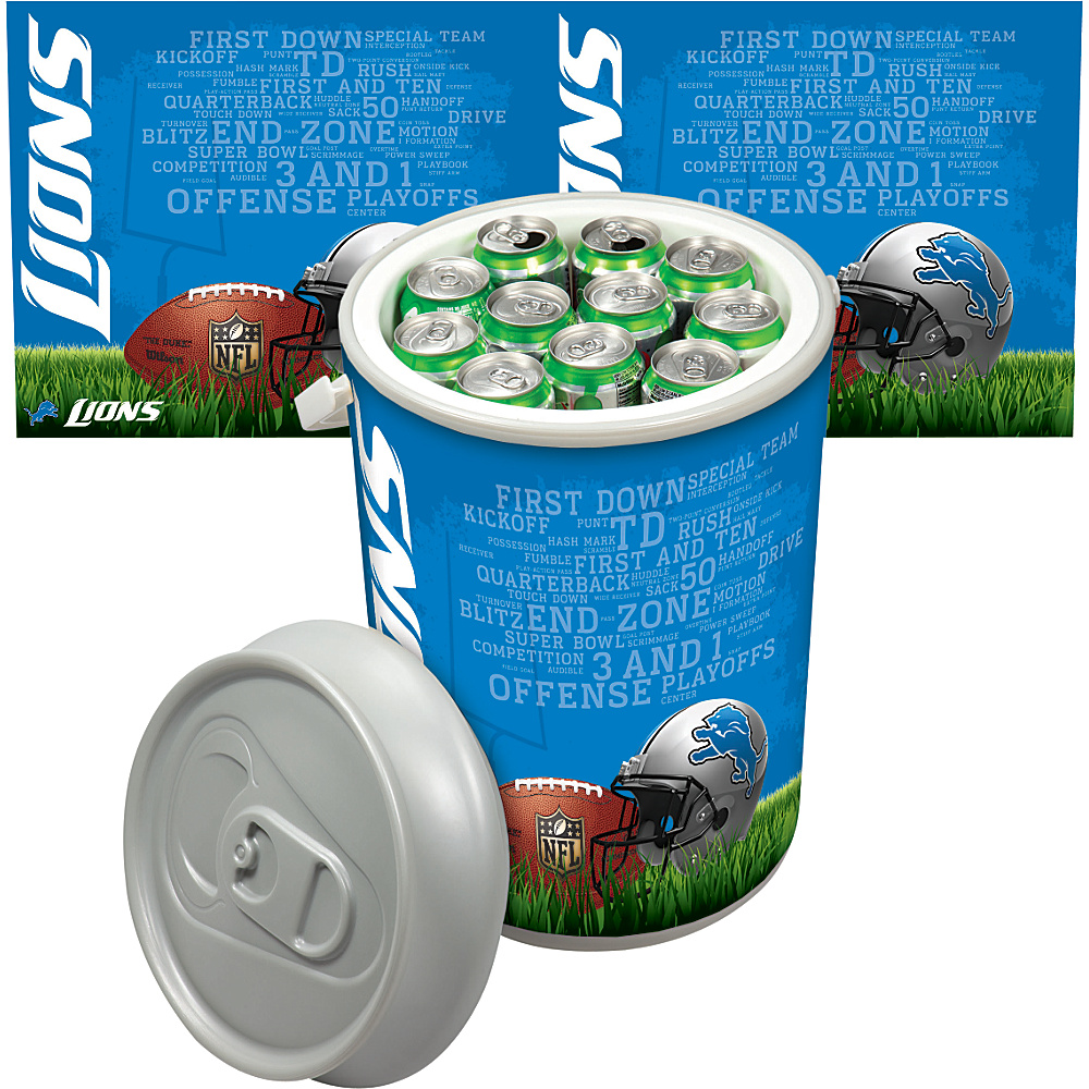 Picnic Time Detroit Lions Mega Can Cooler Detroit Lions - Picnic Time Outdoor Coolers - Outdoor, Outdoor Coolers
