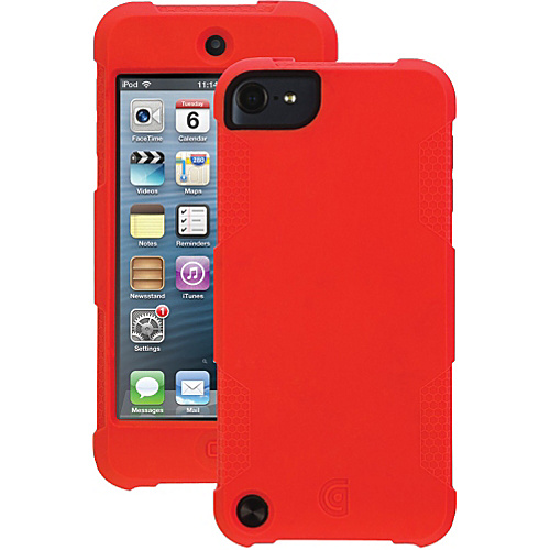 Griffin iPod Touch 5g Protector Case Red - Griffin Personal Electronic Cases