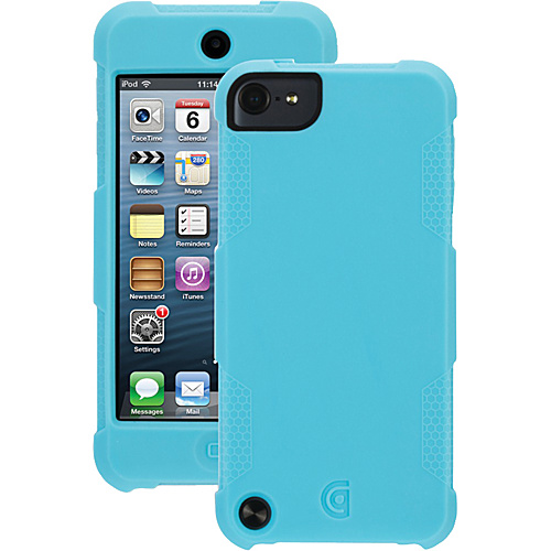 Griffin iPod Touch 5g Protector Case Turquoise - Griffin Personal Electronic Cases