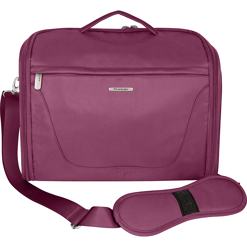 Travelon Independence Travel Toiletry Kit Bag Wineberry - Travelon Toiletry Kits - Travel Accessories, Toiletry Kits