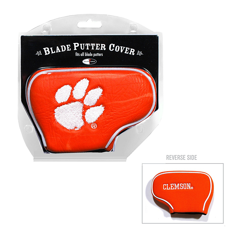 Team Golf USA Clemson University Tigers Blade Putter Cover Team Color - Team Golf USA Golf Bags