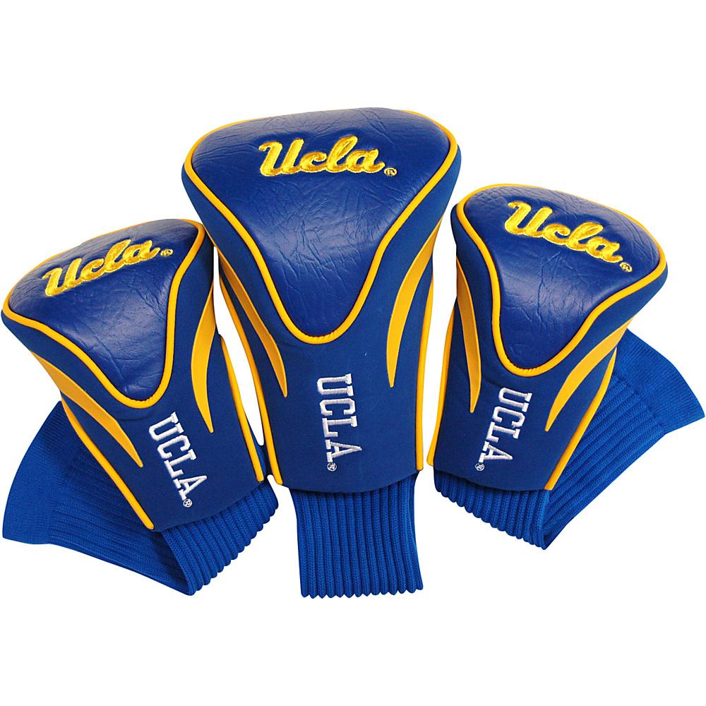 Team Golf USA University of California Los Angeles (UCLA) Bruins 3 Pack Contour Headcover Team Color - Team Golf USA Golf Bags