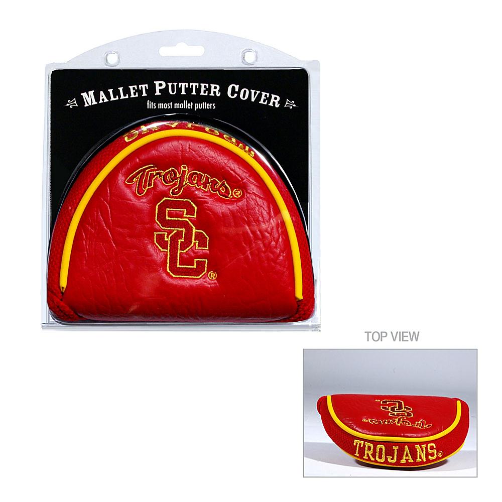 Team Golf USA University of Southern California USC Trojans Mallet Putter Cover Team Color - Team Golf USA Golf Bags