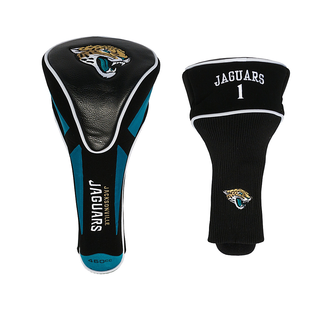 Team Golf USA Jacksonville Jaguars Single Apex Headcover Team Color - Team Golf USA Golf Bags