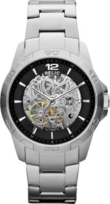 Relic Automatic Stainless Steel Bracelet Silver - Relic Watches