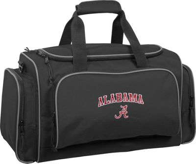 Wally Bags University of Alabama Crimson Tide 21 inch Collegiate Duffel Black - Wally Bags Rolling Duffels