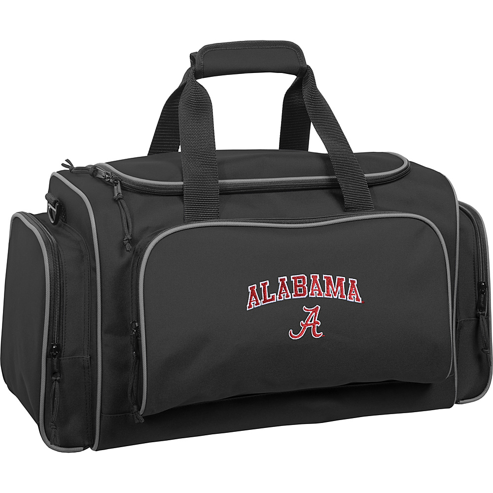 Wally Bags University of Alabama Crimson Tide 21 Collegiate Duffel Black Wally Bags Rolling Duffels