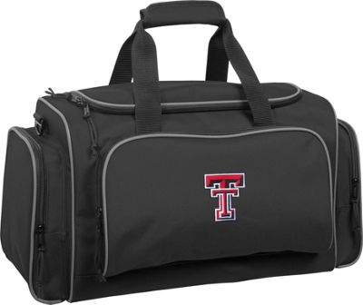 Wally Bags Texas Tech University Red Raiders 21 inch Collegiate Duffel Black - Wally Bags Rolling Duffels