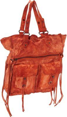 Latico Leathers Mason Tote Orange - Latico Leathers Leather Handbags