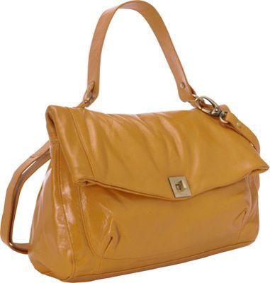 Latico Leathers Ellis Satchel Gold - Latico Leathers Leather Handbags