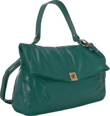 Latico Leathers Ellis Satchel Sea Green - Latico Leathers Leather Handbags