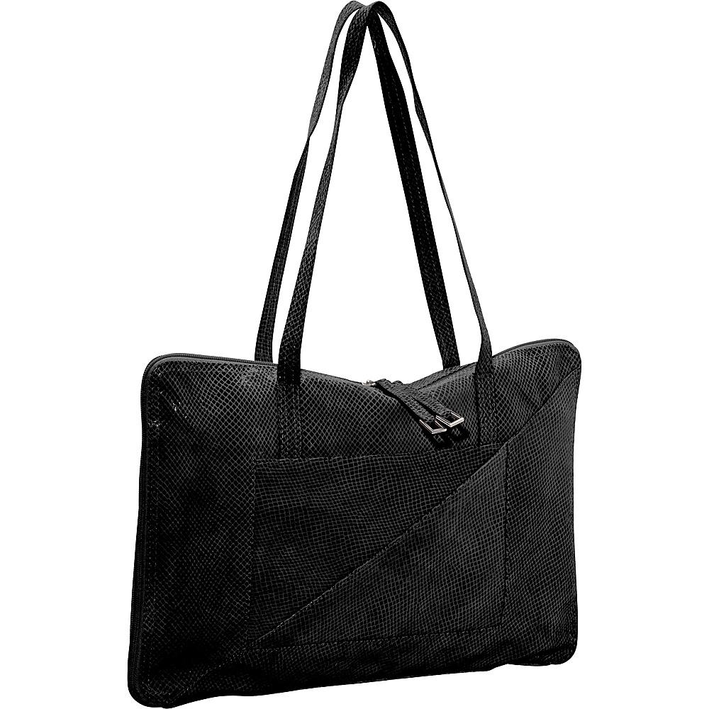 Latico Leathers Francis Shoulder Bag Black - Latico Leathers Leather Handbags - Handbags, Leather Handbags