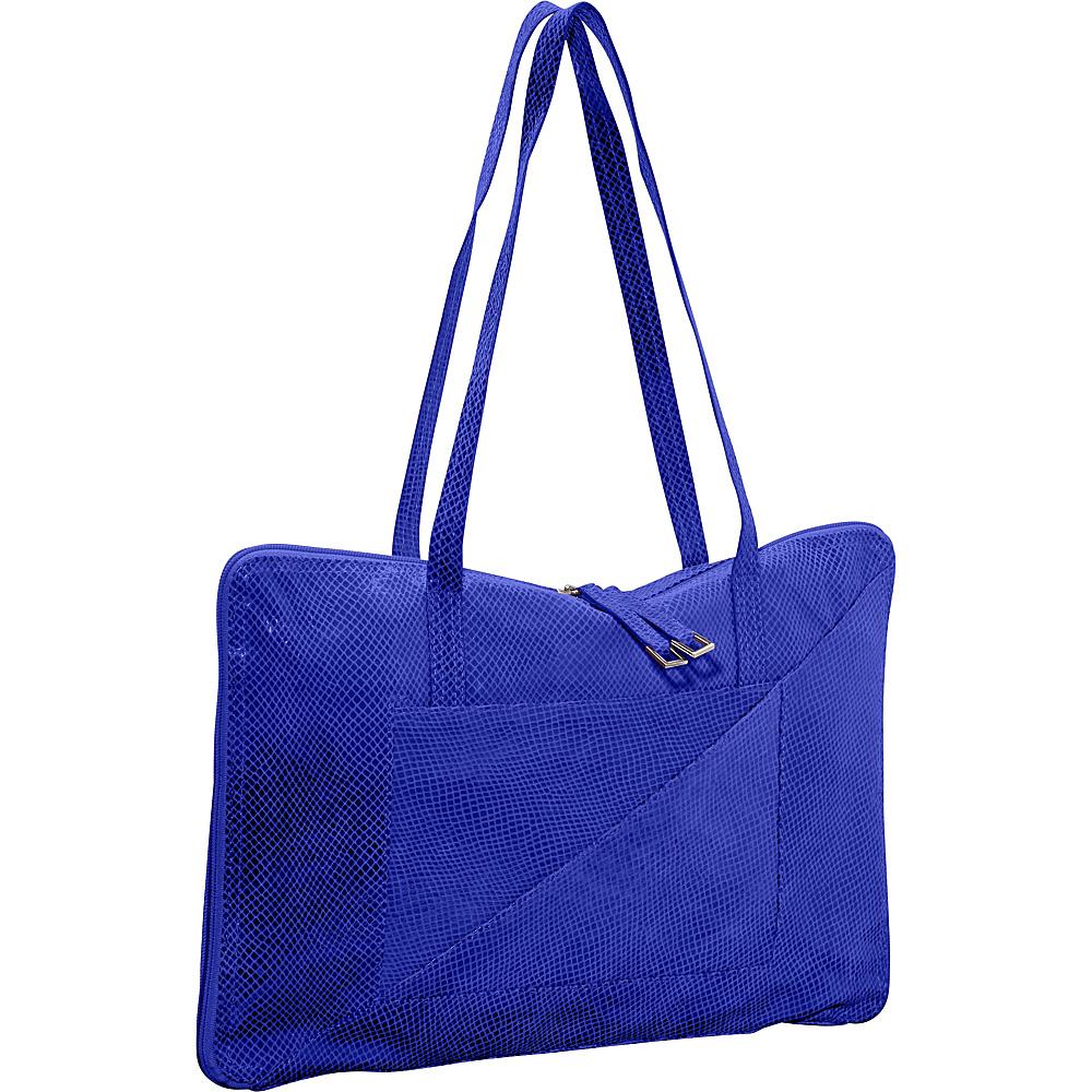 Latico Leathers Francis Shoulder Bag Blue - Latico Leathers Leather Handbags - Handbags, Leather Handbags