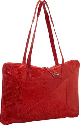 Latico Leathers Francis Shoulder Bag Red - Latico Leathers Leather Handbags