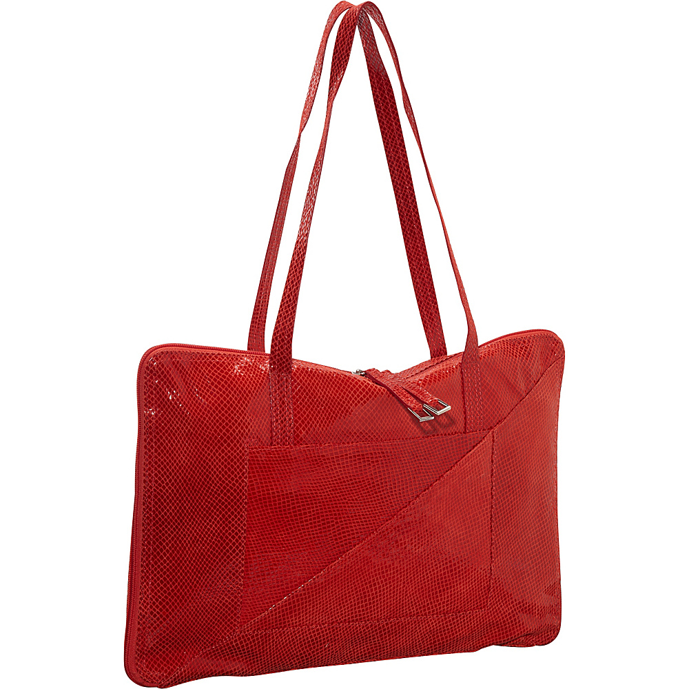 Latico Leathers Francis Shoulder Bag Red - Latico Leathers Leather Handbags - Handbags, Leather Handbags