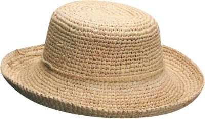 Scala Hats Scala Hats Women's Crocheted Raffia One Size - Natural - Scala Hats Hats/Gloves/Scarves