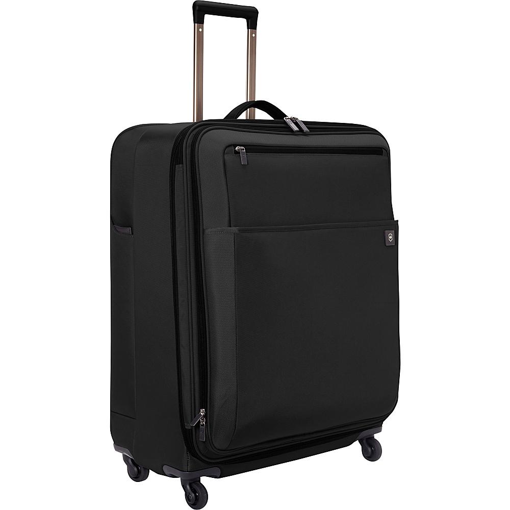"Victorinox Avolve 2.0 27"" Spinner Black/Black - Victorinox Large Rolling Luggage"