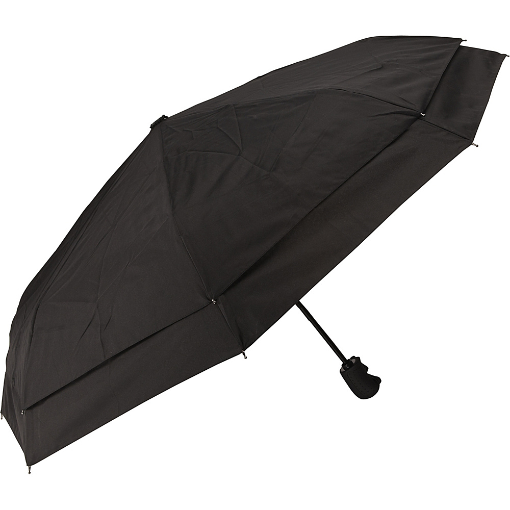 Samsonite Travel Accessories Windguard Auto Open Close Umbrella Black Samsonite Travel Accessories Umbrellas and Rain Gear