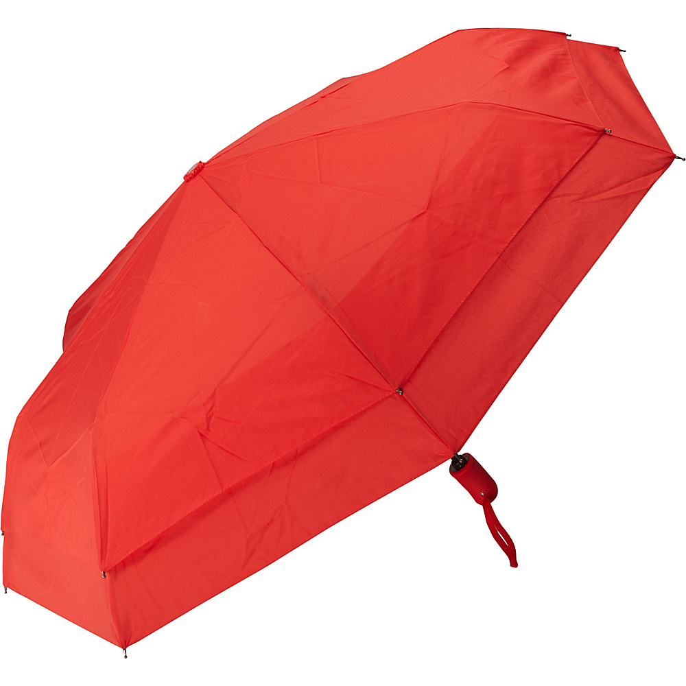 Samsonite Travel Accessories Windguard Auto Open Close Umbrella Red Samsonite Travel Accessories Umbrellas and Rain Gear