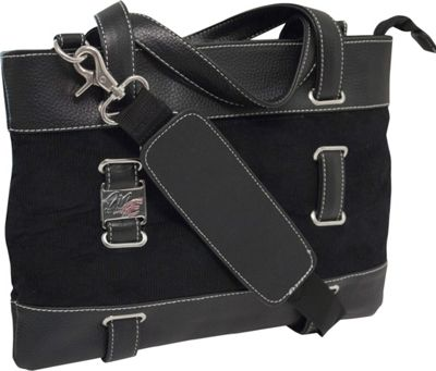 Mobile Edge Corduroy Tablet Tote - 11 inch Black - Mobile Edge Women's Business Bags