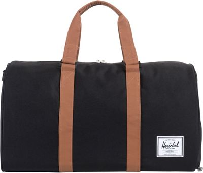 Herschel Supply Co. Novel Duffle - 20 inch Black / Tan - Herschel Supply Co. Travel Duffels