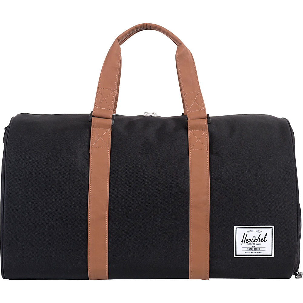Herschel Supply Co. Novel Duffel Black Tan Herschel Supply Co. Travel Duffels