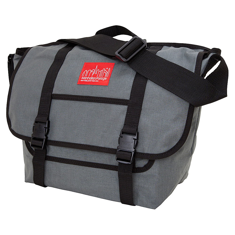 Manhattan Portage NY Messenger Bag (MD) Gray - Manhattan Portage Messenger Bags - Work Bags & Briefcases, Messenger Bags
