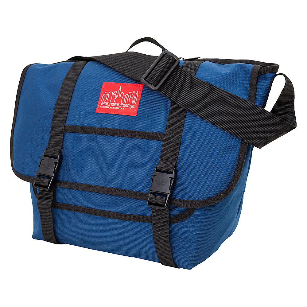 Manhattan Portage NY Messenger Bag (MD) Navy - Manhattan Portage Messenger Bags - Work Bags & Briefcases, Messenger Bags