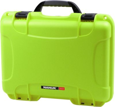 NANUK 910 Water Tight Protective Case Lime - NANUK Camera Accessories