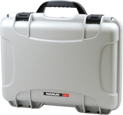 NANUK 910 Water Tight Protective Case Silver - NANUK Camera Accessories