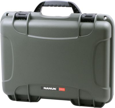 NANUK 910 Water Tight Protective Case Olive - NANUK Camera Accessories